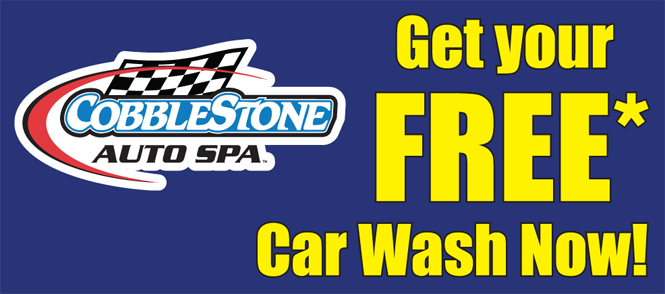 Cobblestone Auto Spa - Get Your Free Car Wash Now!